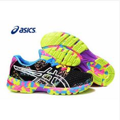 best service d8d15 ada2a Asics en color negro con colorines a un super precio en   www.elparaisodelamoda. Zapatos De ModaDeportesNegroZapatillas ...