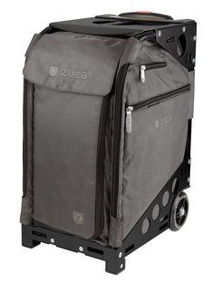 ZUCA PRO TRAVEL BAG - GRAPHITE GREY INSERT AND BLACK FRAME