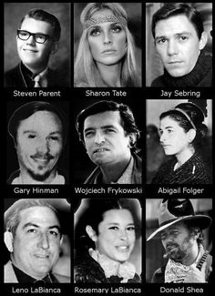 The Manson family led by Charles Manson committed a number of murders in California in 1969 including the murder of famous actress Sharon Tate Charles Manson Victims, Helter Skelter Charles Manson, Dr Hannibal Lecter, Weird History Facts, Famous Murders, Murder Most Foul, Roman Polanski, Sharon Tate, Mystery Of History