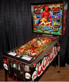 Gorgar 1979 pinball machine