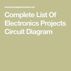 1326 best electronics images on pinterest arduino circuit diagram rh pinterest com Delta Wiring Diagram International Wiring Diagrams