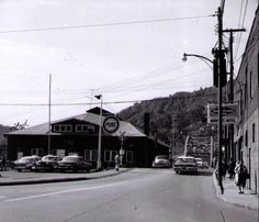 What Plaza Lanes Bowling Alley in Logan, WV looked like back in the 1950's.