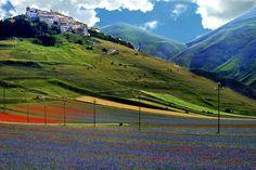 Castellucio di Norcia, Umbria, Italy