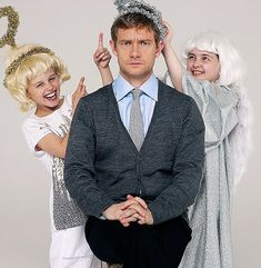 apparently Martin is on the side of the angels. But don't think for one second that he is one of them.