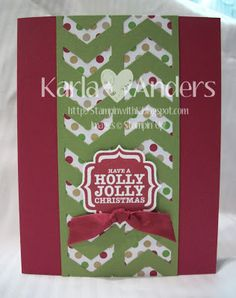 A Work of Heart: Our Favs from the NEW Stampin' Up! Holiday Mini Catalog