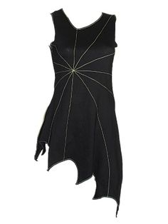 Sale Clearance 60% Off DJD Pixie Lazer Tunic Top Black UK 8  &  10 BIG SALE NOW ON AT mouseyessim on ebay