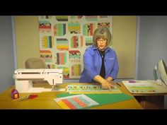 Quilting Quickly: Prairie Blooms - Strip Quilt Pattern - YouTube