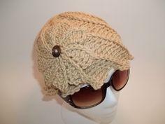 Braided Twirlagig Hat Set in 3 sizes, pdf crochet pattern. $5.99, via Etsy.