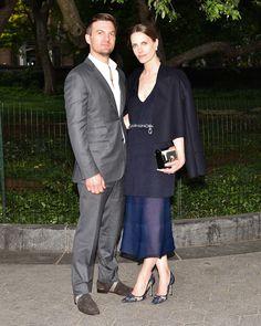 Max Snow and Vanessa Traina Snow in Calvin Klein Collection