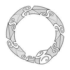 Tribali Maori Ouroboros Tattoo Tagged As