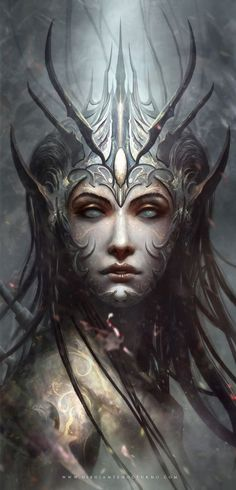 Fanart Marta Nael by Dibujante-nocturno Dark Fantasy Art, Fantasy Girl, Fantasy Artwork, Chica Fantasy, Fantasy Kunst, Fantasy Women, Dark Art, Fantasy Creatures, Mythical Creatures