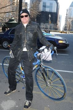 Robin Williams and his bike