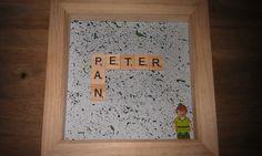 Disney Peter Pan Lego Minifigure Scrabble Handmade Handpainted KrafterDark