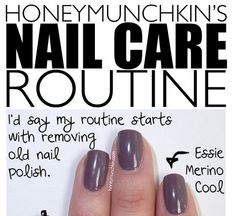 Best nail care routine I've ever used! Love the buffing of the cuticles and I couldn't live without my nail envy! Nail Care Routine, Nail Care Tips, Opi Nail Envy, Nail Manicure, Opi Nail Strengthener, Cute Nails, Pretty Nails, Hair And Nails, My Nails