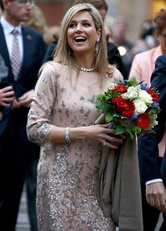King Willem Alexander and Queen Maxima visit Munich