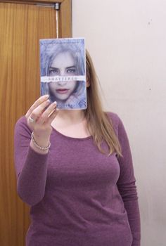 This is our first attempt at #BookFaceFriday at Doncaster Libraries :)