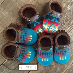 A new batch of Scout Baby Moccs--c'mon baby, get your fringe on!
