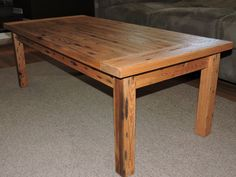 This Rustic Barn Wood Coffee Table Would Make A Great Centerpiece To Any  Room. The