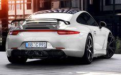 Descargar fondos de pantalla Porsche 911 de 2017, los coches, supercars, Neunelfer, blanco 911, los coches alemanes, Porsche