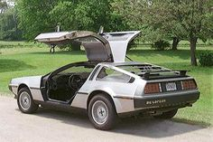 Sweet mid-1980s ride. (Or, time machine?)