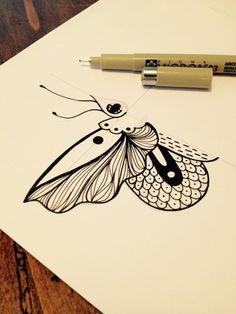 Le travail continue... De nouveaux motifs très prochainement!  #latelierdescuriosites #papillon #butterfly #tattoo #wonder #cabinet