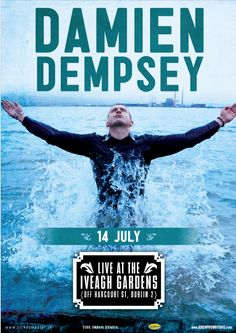 14 July: Damien Dempsey at Iveagh Gardens