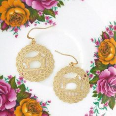 Online Shopping For LAVISHY Unique And Beautiful Filigree Earrings – LAVISHY Boutique Filigree Earrings, Gold Plated Earrings, Pendant Earrings, Flower Earrings, Crochet Earrings, Gift Shops, Clothing Boutiques, Fashion Accessories, Fashion Jewelry
