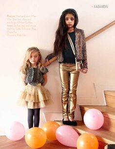 Lille Nord Kids Glam Style #Gold