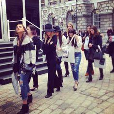 #londonfashionweekend #london #lookbook #streetfashion #streetstyle #fashion #fashionshow #trends #hijinksdelightreport