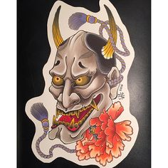 #mulpix Hannya and peony design available to be tattooed @lighthouse_tattoo . If interested, send enquiries to the email below... FOR BOOKINGS... w: lighthousetattoo.com.au e: contact@lighthousetattoo.com.au ph: (+61 2) 9316 4565   #tattoo  #lighthousetattoo  #lighthousetattoostudio  #lighthousetattoosydney  #sydneytattoo  #sydneytattooartist  #tattooartistsydney  #japanesetattoo  #japanesetattoos  #irezumi  #wabori  #alexrusty  #hannya  #hannyamask  #hannyatattoo  #peonytattoo