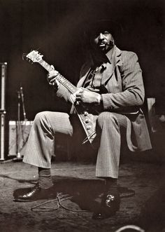 Albert King  Photo : Jean-Pierre Leloir