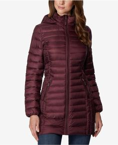 66b4e4921ac8 32 Degrees Hooded Packable Down Puffer Coat  Hooded Degrees Coat Manteaux  Puffer Femmes