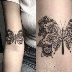 Butterfly Mandala Tattoo | Best Tattoo Ideas Gallery