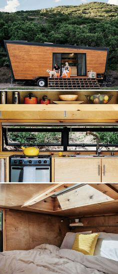 A 236 sq ft tiny house a couple built for $50,000