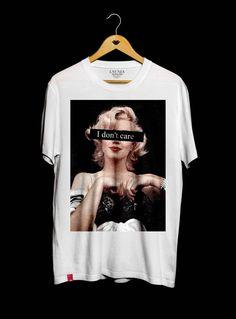 T-Shirt I Don 't Care - Creative T-Shirts - # T Shirts . Shirt Print Design, Tee Shirt Designs, Aesthetic T Shirts, Aesthetic Clothes, Graphic Shirts, Printed Shirts, Mode Outfits, Fashion Outfits, Cool T Shirts