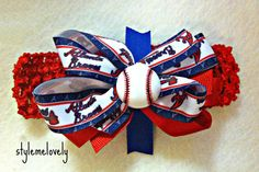Hey, I found this really awesome Etsy listing at https://www.etsy.com/listing/177338619/atlanta-braves-baby-girl-boutique-bow