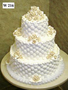 Carlo's Bakery - Buttercream Wedding Cake Designs