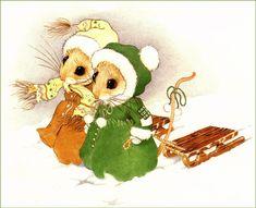 Мышки-малышки Присциллы Хиллман. Обсуждение на LiveInternet - Российский Сервис Онлайн-Дневников