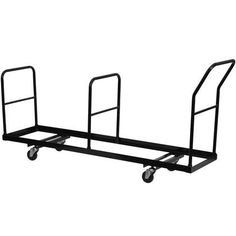 Flash Furniture Vertical Storage Folding Chair Dolly - 35 Chair Capacity