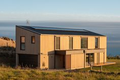 Team Green Architects | Dunedin | Dunedin Passive House Sustainable Architecture, Architecture Design, Energy Efficiency, Passive House Design, Architect House, House Windows, New Builds, Beautiful Space
