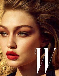 Gigi Hadid || W Magazine Korea (December 2016 Cover)