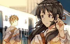 Mitsuha Miyamizu 💕 Taki Tachibana | Kimi No Na Wa | Your Name | By Makoto Shinkai