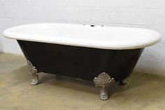 Columbus Architectural Salvage - Antique Center Drain Bathtub
