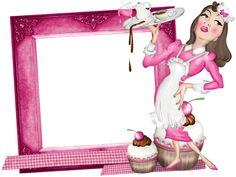 sweet frame Recipe Paper, Scrapbooking, Recipe Cards, Framed Art, Clip Art, Disney Princess, Gifs, Frames, Printables