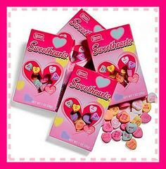 Sweethearts Candy - One of the topics included in The Teacher Next Door's Valentine's Day Literacy Unit