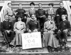 The 1904 class of Florida State Normal and Industrial School (Now FAMU). | Florida Memory