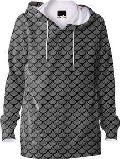 Mermaid Silver Hoodie - Available Here: http://printallover.me/products/0000000p-mermaid-silver