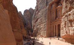 Walk the Siq to Petra, Jordan