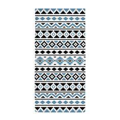 Aztec Essence (II) BWB Beach Towel on CafePress.com