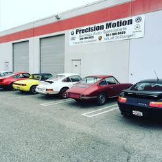 Another day in the books @ #precisionmotion. I love the variety of #Porsches I get to work on daily. #porsche911 #porsche914 #porsche912 #porsche928 #outlaw #porscheracing #carblood #livingthedream #fuckyourjob #gofast #racecarlife #wrenchlife by twocamsam84